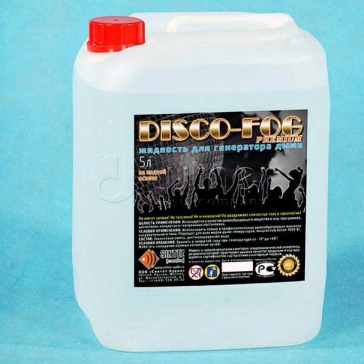 DF-Premium Disco Fog  -Жидкость для генераторов дыма, плотная,  Синтез Аудио