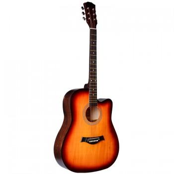 """FT-221-3TS Акустическая гитара 41"""", с вырезом, санберст - Fante"""