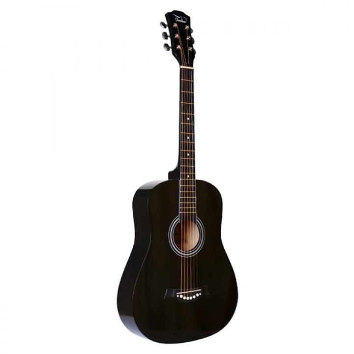 FT-R38B-BK Акустическая гитара, черная - Fante