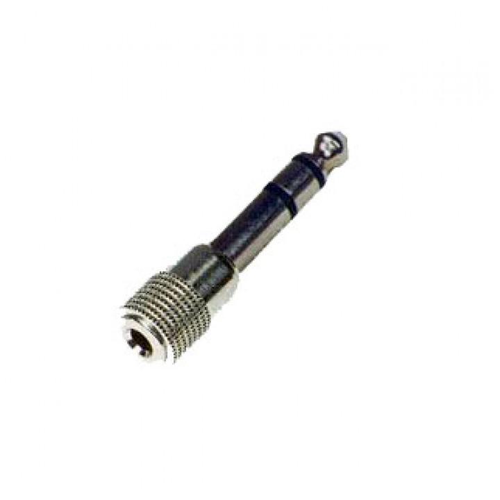 CC309-1Переходник - 6,35мм стерео штекер - 3,5мм стерео гнездо, Soundking