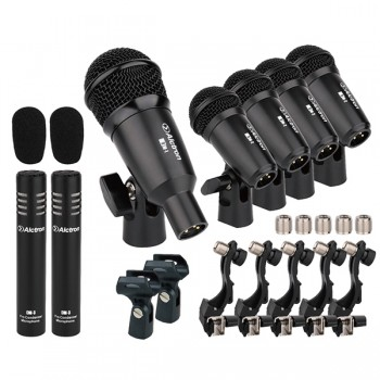 T8400 Комплект микрофонов для ударных - Alctron