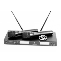 LS-Q5-2M Двухканальная вокальная радиосистема, 2 ручных передатчика - LAudio