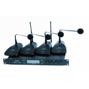 LS-804-C Конференц-система, 4 микрофона - LAudio