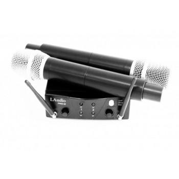 PRO2-M Вокальная радиосистема, 2 ручных передатчика - LAudio