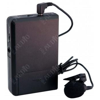 MS-200T Передатчик системы гида с петличным микрофоном - PROAUDIO