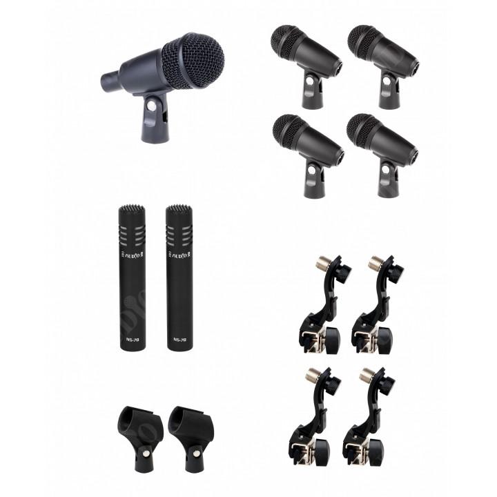 DRUM SET-7 Набор микрофонов для барабанной установки - PROAUDIO