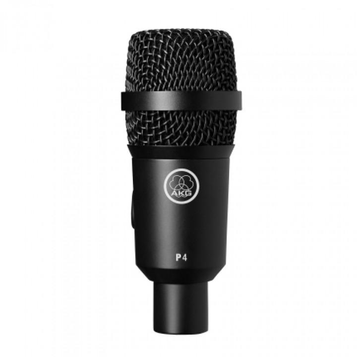 P4 микрофон динамический для озвучивания барабанов, перкуссии и комбо - AKG
