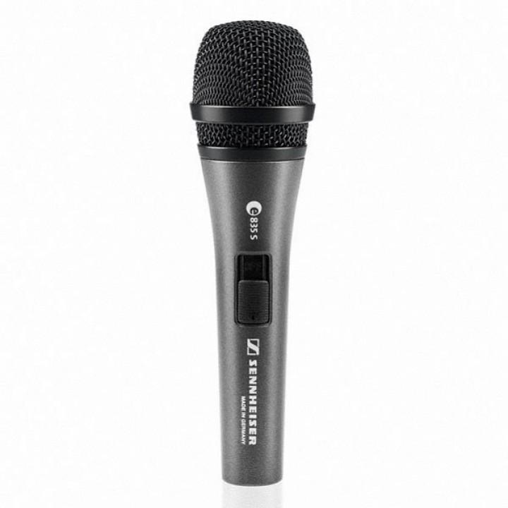 004514 E835-S Микрофон динамический, с выключателем - Sennheiser