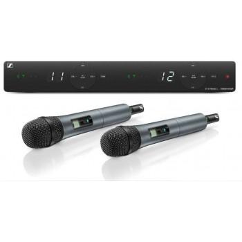 508263 XSW 1-825 DUAL-A Двухканальная вокальная радиосистема - Sennheiser