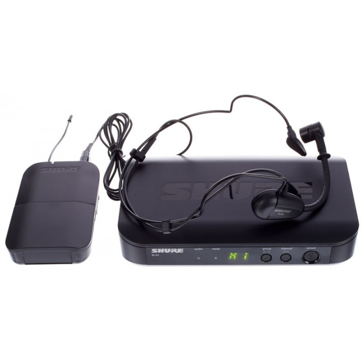 Радиосистема с головным микрофоном - SHURE BLX14RE/PG30