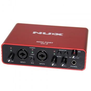 UC-2 Mini Port Аудио интерфейс звуковая карта - Nux