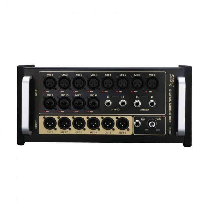 DB16 Микшерный пульт, цифровой, рэковый - Soundking