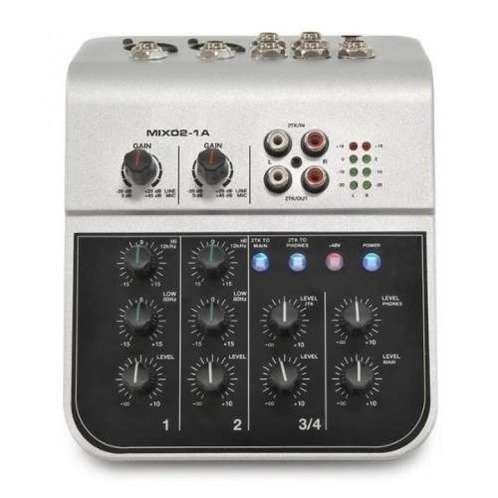 MIX02-1A Микшерный мини-пульт - Soundking
