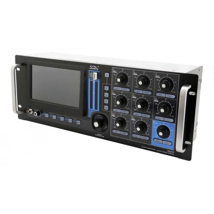 DB20P Цифровой микшерный пульт рэковый - Soundking