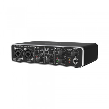 UMC204HD Аудиоинтерфейс USB, 2входа, 4 выхода - BEHRINGER