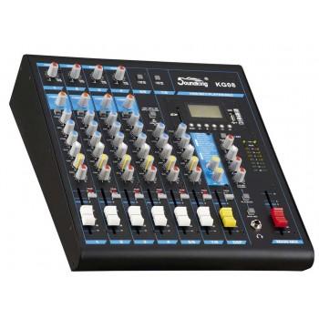 KG08 Микшерный пульт с цифровыми эффектами - Soundking