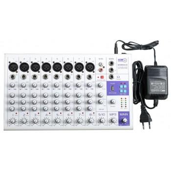 MIXBOX-10 Микшерный пульт - FREE SOUND