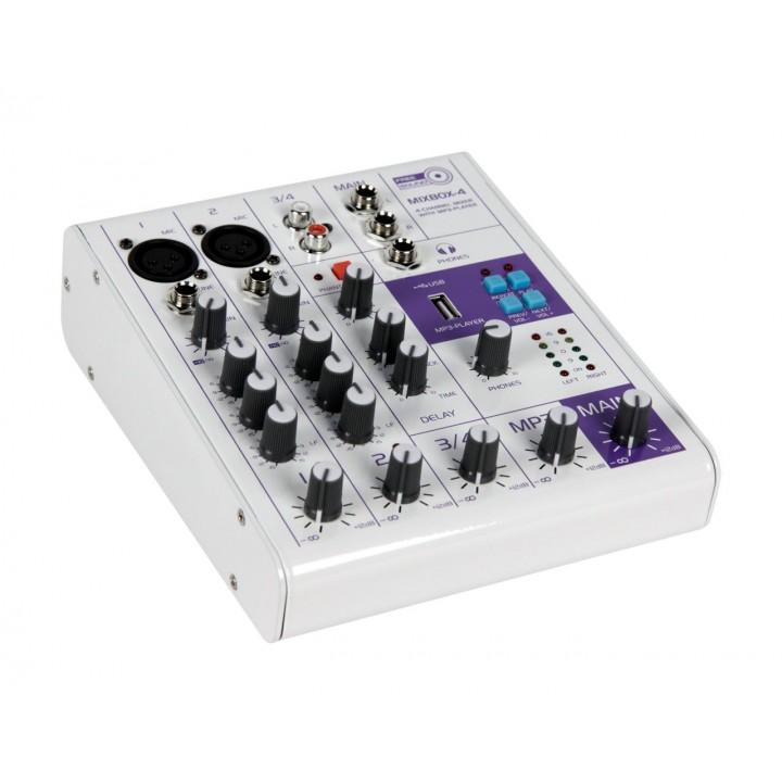 MIXBOX-4 Микшерный пульт - FREE SOUND