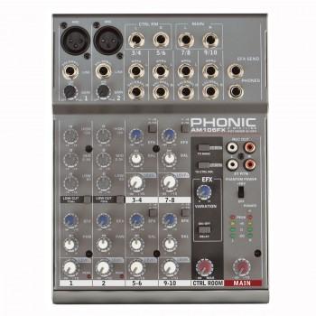 AM105FX Микшерный пульт 6-канальный - Phonic