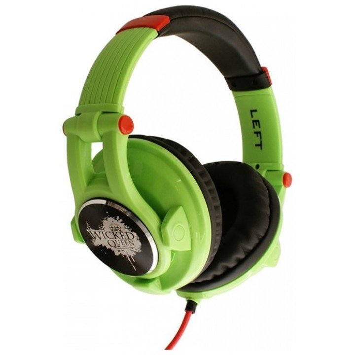 Wicked-Queen-Green Наушники накладные полноразмерные - Fischer Audio (Galaxy Series)