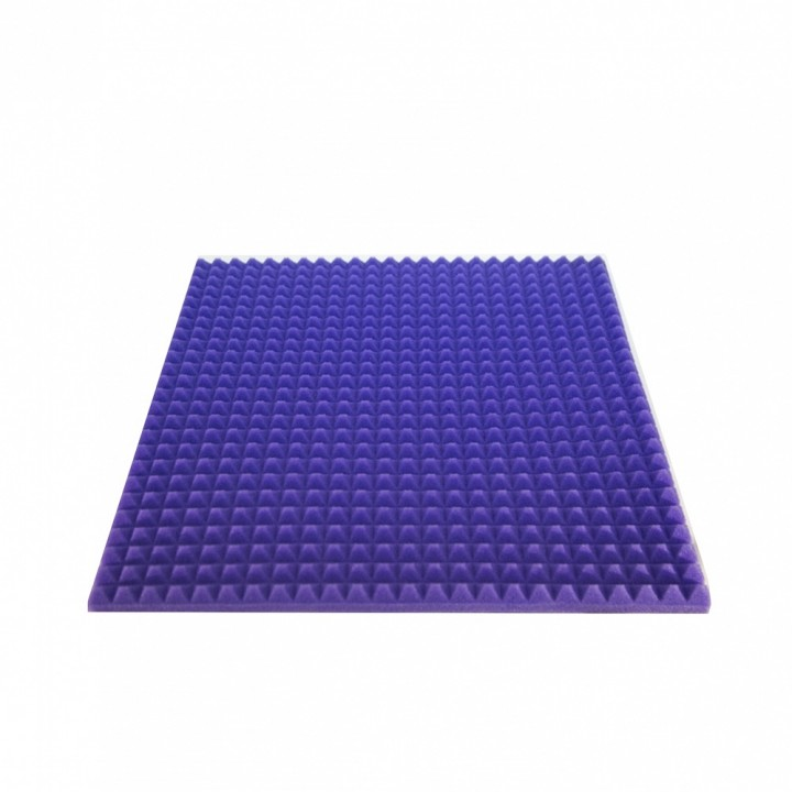 АП23С Акустический поролон модель 70 (2000х1000х90), фиолетовый - АТЕХ