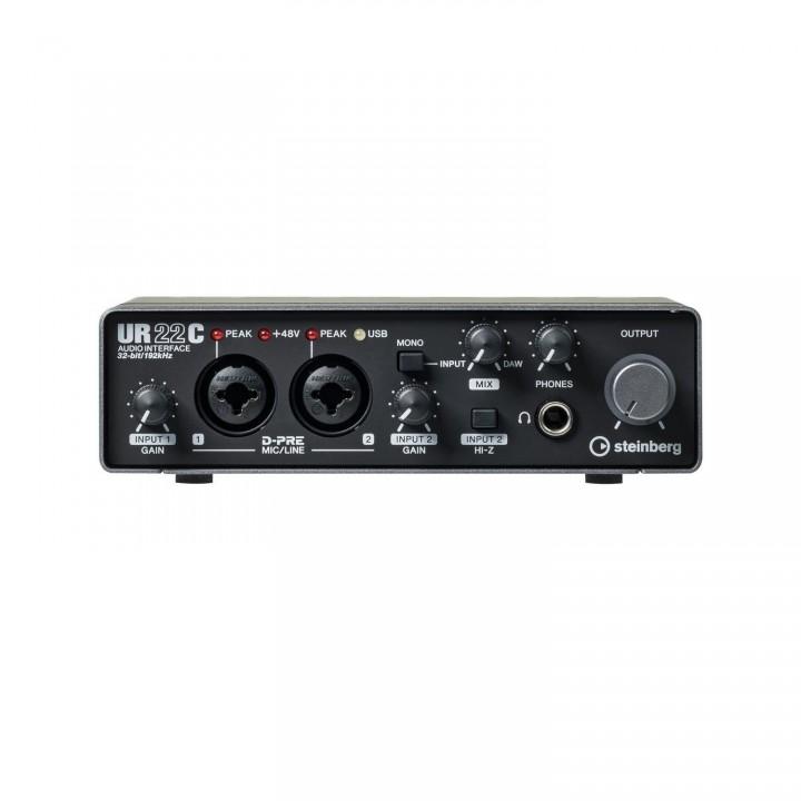 UR22C USB аудиоинтерфейс - STEINBERG