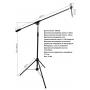 MA628 Микрофонная стойка-журавль,студийная - Alctron