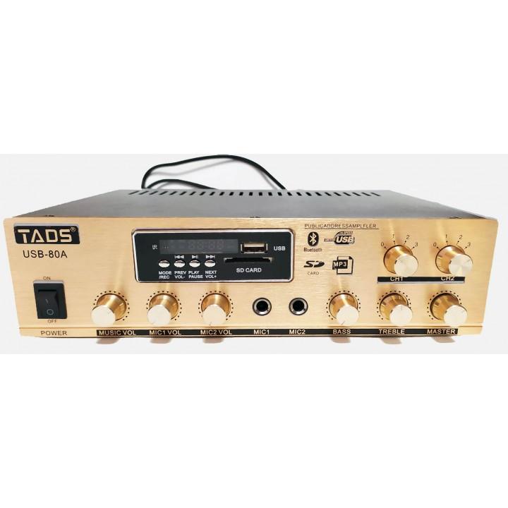 DS-USB-80A Усилитель мощности трансляционный - TADS