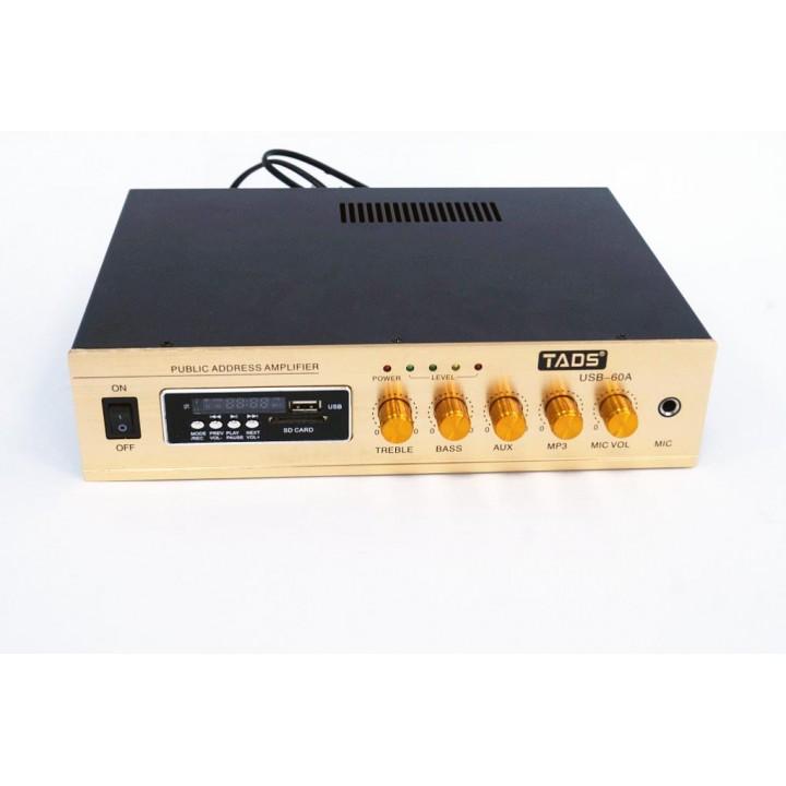 DS60A Усилитель мощности, трансляционный -  TADS
