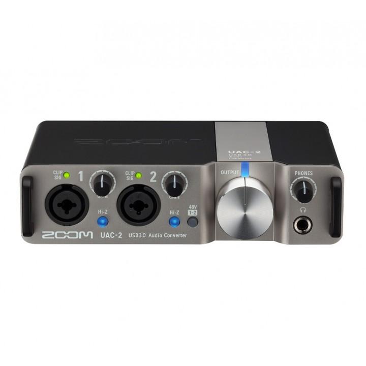 Zoom UAC-2 - цифровой USB 3.0 аудиоинтерфейс, 2 канала