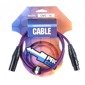 CMC-1E Микрофонный кабель - PROAUDIO
