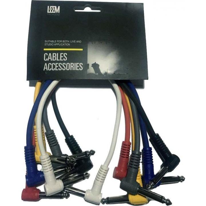 CPML-1 Набор кабелей 6 штук длиной 30см - LEEM