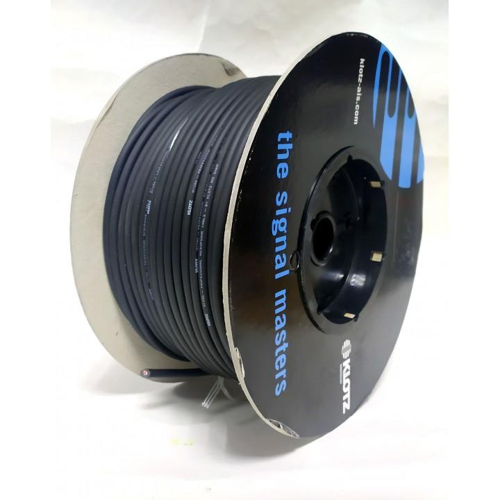 MY206SW.100 Кабель микрофонный 2х0,22мм2, 100м, черный - Klotz