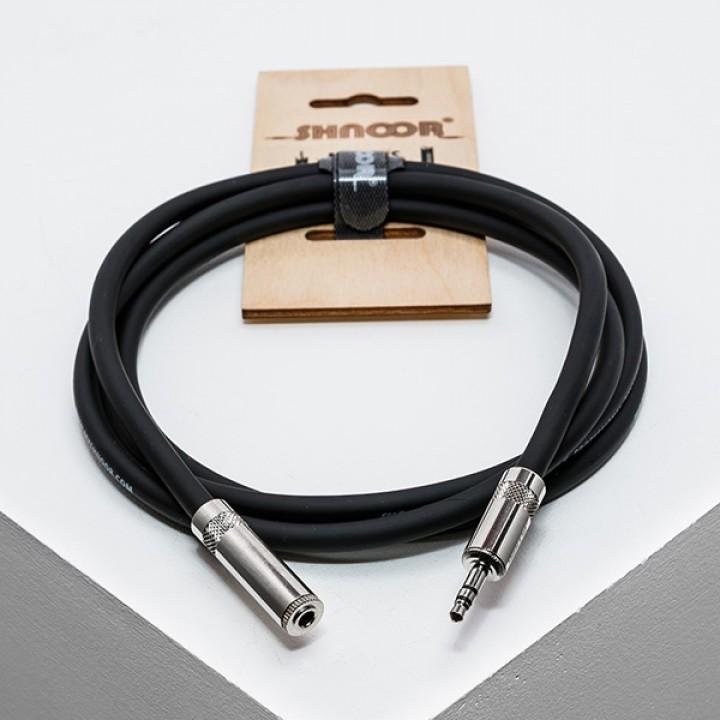 MJEXT-S-2m Удлинитель для наушников 2м - SHNOOR