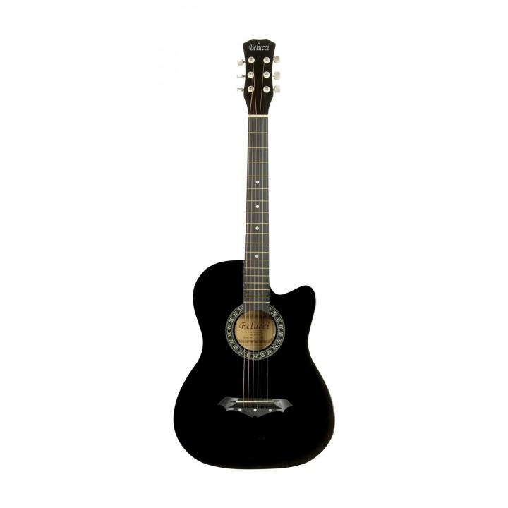 3810 BK Акустическая гитара - Belucci 3810 BK (черный)