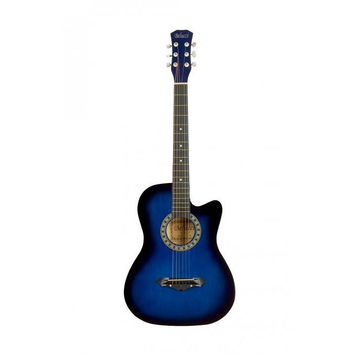 3810 BLS Акустическая гитара - Belucci 3810 BLS (синий)