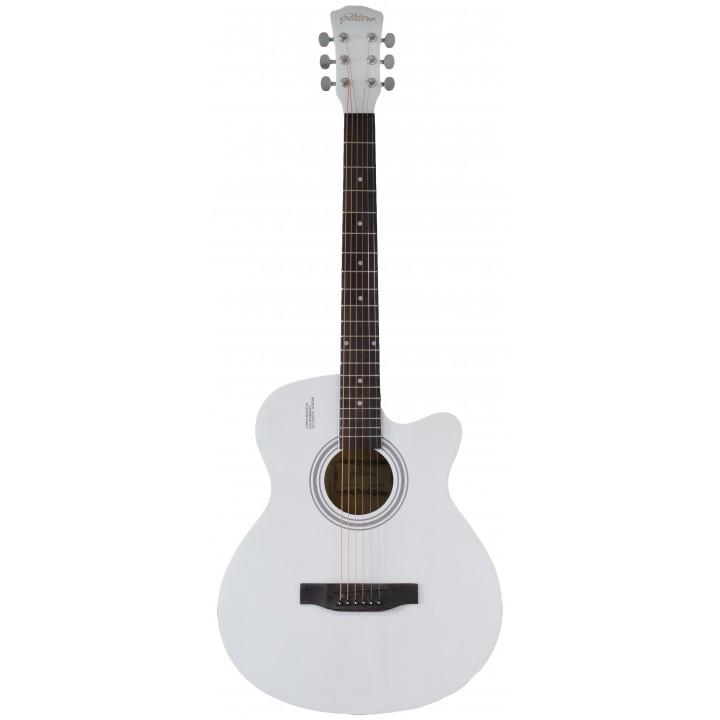 4010 WH Акустическая гитара  - Elitaro (белый)