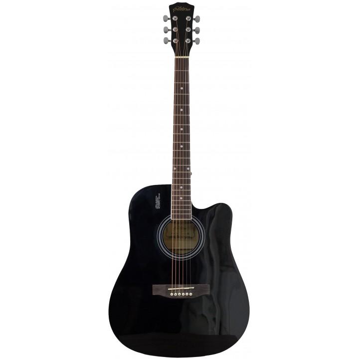 E4110C BK Акустическая гитара  - Elitaro E4110C BK (черный)