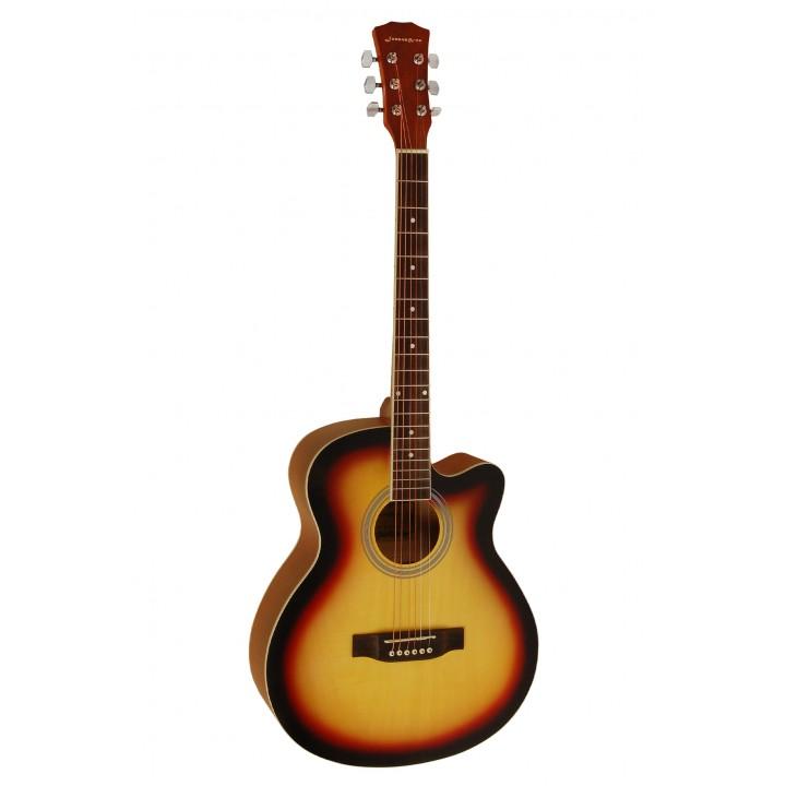 E4011C SB Акустическая гитара - Jonson&Co (матовая)