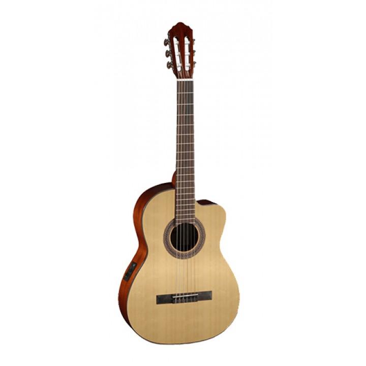 AC120CE-OP Classic Series Классическая гитара со звукоснимателем, с вырезом - Cort