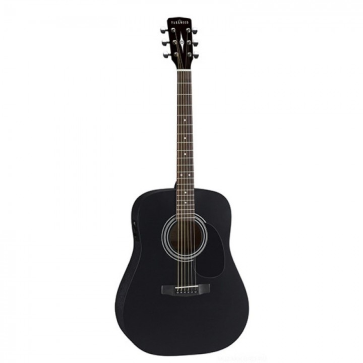 PF51E-BKS Электро-акустическая гитара с чехлом Parkwood - PF51E-BKS