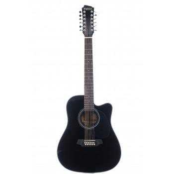 FB12 4010 BK Акустическая 12-струнная гитара - Fabio