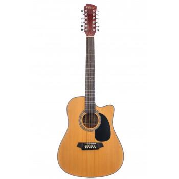 FB12 4010 NL Акустическая 12-струнная  гитара - Fabio