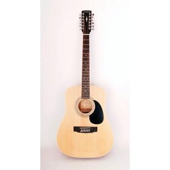 W81-12-OP Акустическая гитара 12-струнная с чехлом - Parkwood W81-12-OP