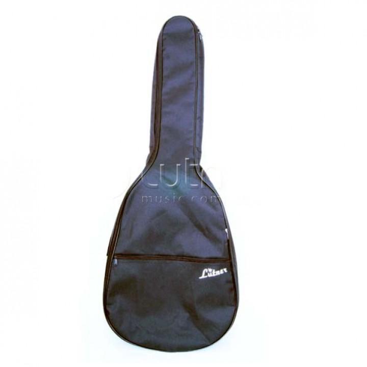 ЛЧГ12-2/1 Чехол гитарный утепленный, с карманом, 2 заплечных ремня - Лютнер