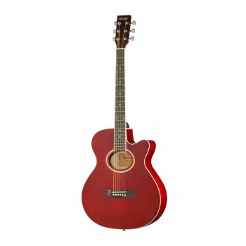 LF-401C-R Фольковая гитара с вырезом - HOMAGE