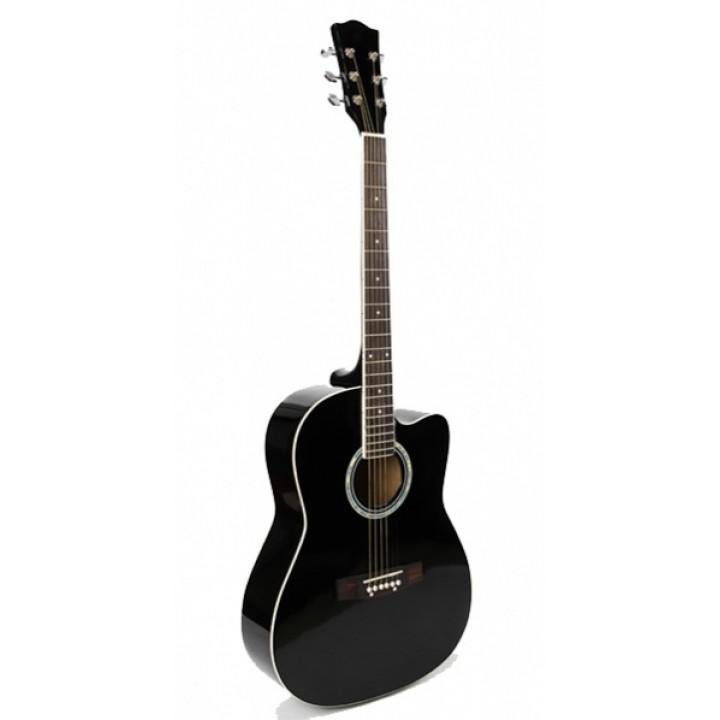 """FT-221-BK Акустическая гитара 41"""", с вырезом, черная - Fante"""