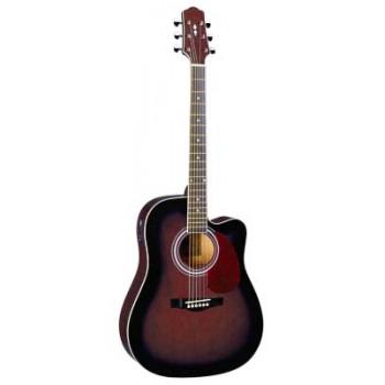 DG220CE-WRS Акустическая гитара со звукоснимателем - Naranda