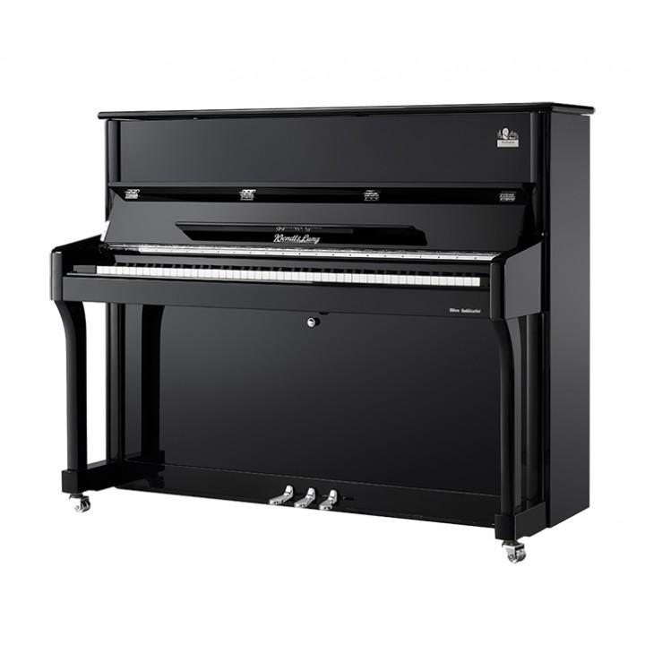W120BL Пианино акустическое, черное - Wendl&Lung