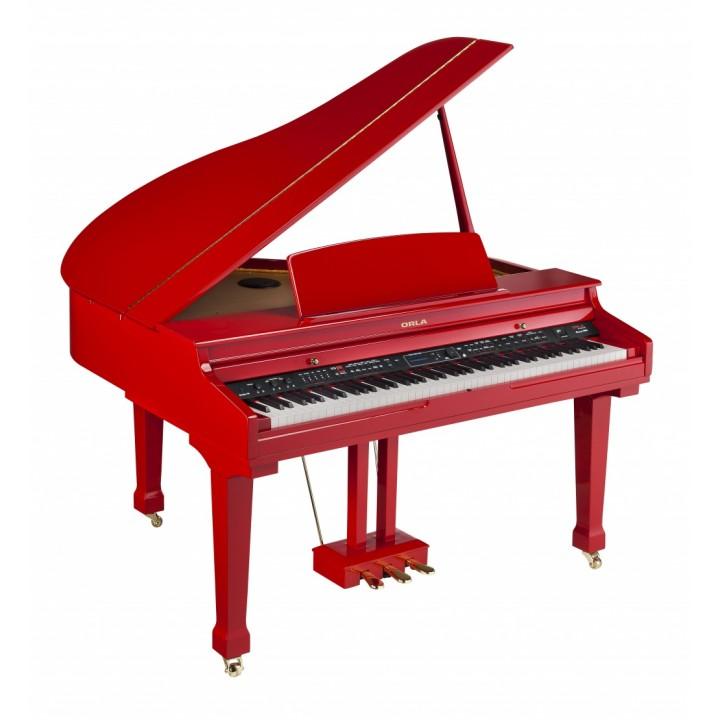 438PIA0632 Grand 500 Цифровой рояль, с автоаккомпанементом, красный - Orla